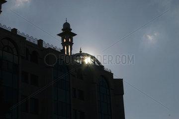Berlin - Minaret der Moschee in die Wienerstrasse