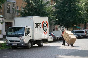 DPD Paket Zusteller