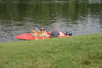 Sonnenbad am Landwehrkanal