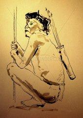 Indianer Indio Eingeborene Naturvoelker Dschungel