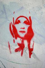 Koptuch Graffiti