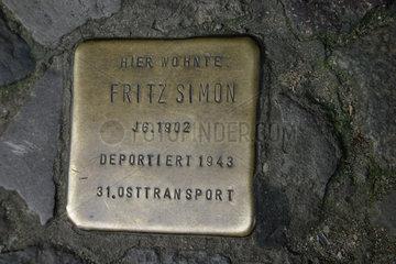 Berliner Stolperstein