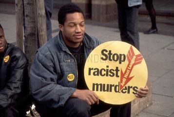 stop racism murder