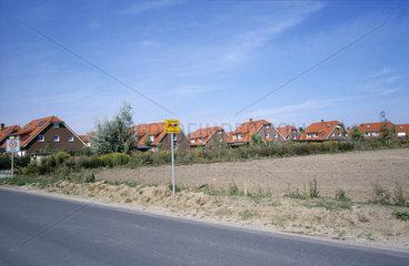 Wohnsiedlung in Mahlow-Waldblick