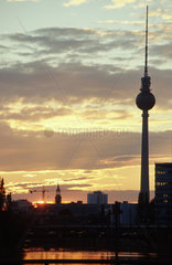 Berlin Abenddaemmerung