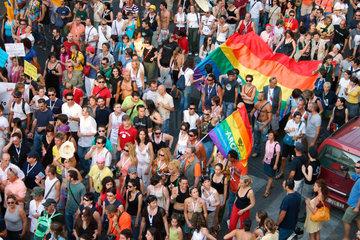 Italy  Rome - gay pride 2006