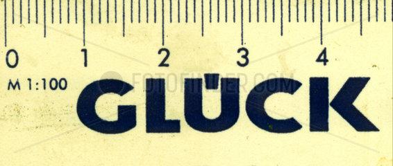 5 cm Glueck