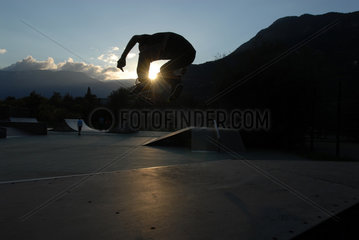 Italien  Skateboarder