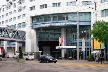 Schweiz. Basel - Kongresszentrum Messe Basel