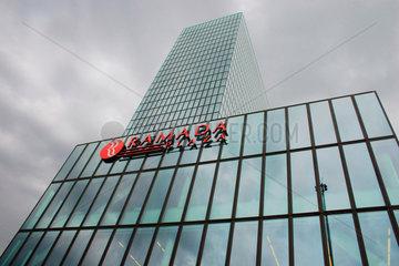 Schweiz. Basel - Messe Turm