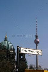 Berlin - Niederlagstrasse.