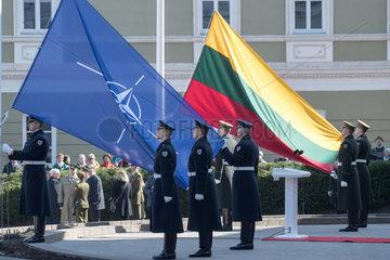 LITHUANIA-VILNIUS-NATO-15TH ANNIVERSARY