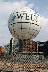 Berlin - Die Welt auf ein Luftballon