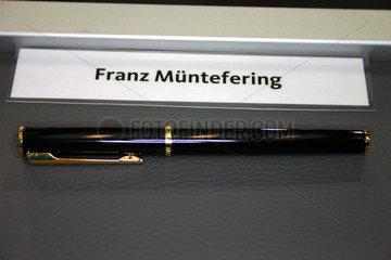 Koalitionsvertrag Unterschreibung im Bundestag