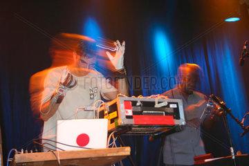 Berlin. Rafael Toral & Sei Miguel Quartet bei der Club Transmediale 2007