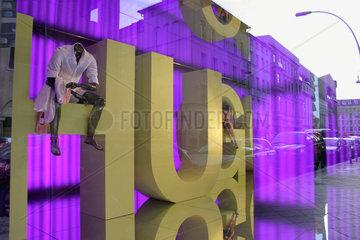 Berlin. Hugo Boss - Shop window