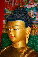 Altar in einem Tibetischen Buddhistischen Zentrum