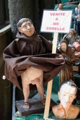 Italy. Naples Via San Gregorio Armeno christmas Figure