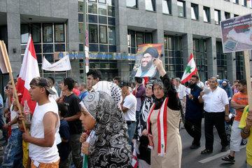 Berlin - Demonstration against War in Libanon
