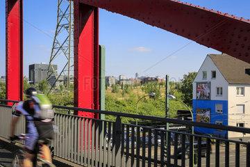 Essen  Ruhrgebiet  Deutschland  Krupp-Park  staedtebauliches Projekt Krupp-Guertel