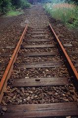 Abbrechende Gleise