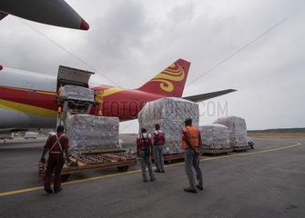 VENEZUELA-CARACAS-CHINA-MEDICAL AID