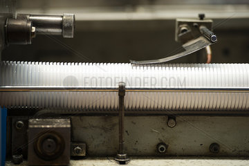 Production line in factory