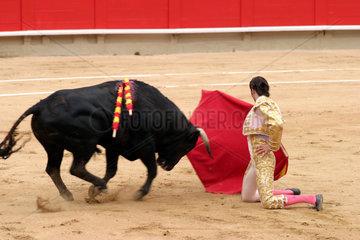 Stierkampf in Spanien