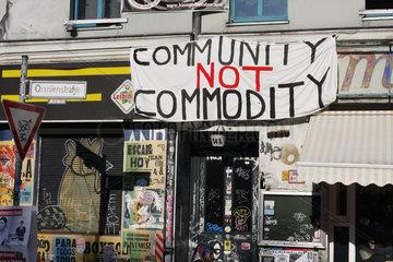 Proteste gegen Mietteuerung in Berlin