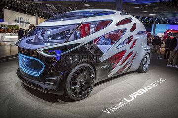 Mercedes-Benz Vision URBANETIC Konzeptfahrzeug