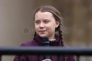 Greta Thunberg - Fridays for Future Demonstration Berlin