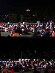 PHILIPPINES-MAKATI-EARTH HOUR