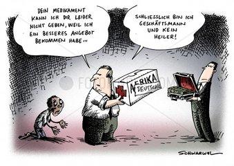 Pharmakonzerne HIV-Medikamente Afrika Verkauf Deutschland