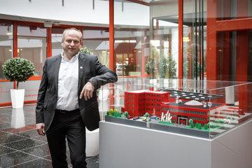 Heinz Speet  Geschaeftsfuehrer der KiK Textilien und Non-Food GmbH
