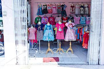 Schaufenster im Kinderladen