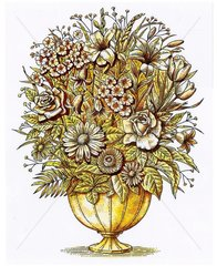 Blumenstrauss altmodisch