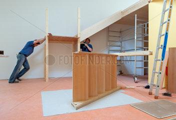 Berlin  Deutschland  Innenausbau einer Kindertagesstaette