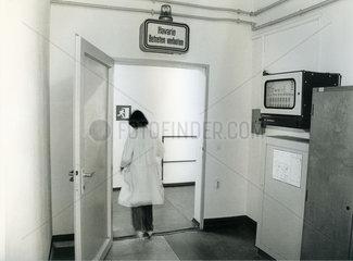 Kernforschungszentrum Rossendorf bei Dresden  DDR  Mai 1990