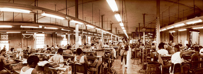 Zigarrenproduktion in Havanna.
