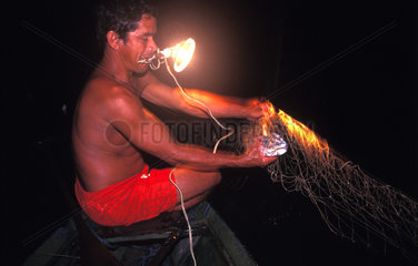 Fischer in Brasilien