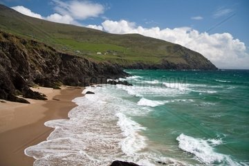 Strandabschnitt in irland
