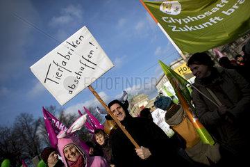Agrar Demonstration - Wir Haben Es Satt