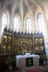 Tribsees  Deutschland  die St. Thomas-Kirche