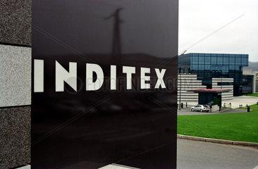 Logo der Firma Inditex im gallizischen Arteixo