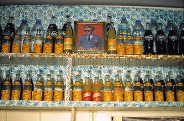 In kleinem Cafe in Marrakesch