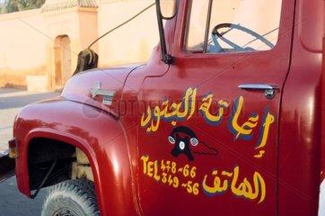 Dienstleistungs-LKW in Marrakesch