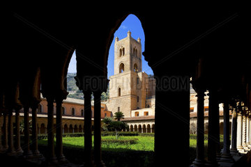 Kathedrale und Kreuzgang Monreale  Sizilien  Italy