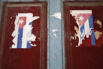 Fahne im Havanna