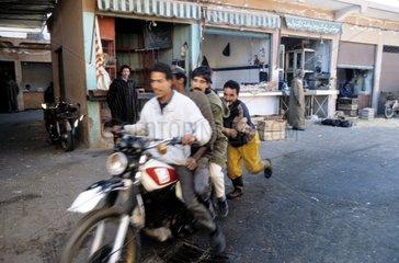 Verkehr in Marrakesch