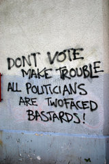 dont vote make trouble